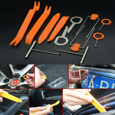 12x Car Open Pry Tool Radio Door Clip Panel Trim Dash Audio Light Removal Repair