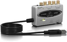 Behringer UFO202 U-Phono Audio Interface High-quality USB Digitalize Tape Vinyl