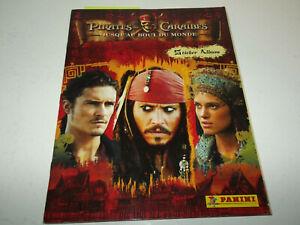 Album Panini - Pirates des caraibes : Jusqu'au bout du monde - complet + poster