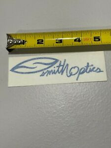 "Smith Optics Sticker Decal 5"" Blue"