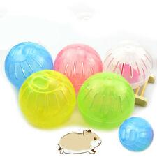 10/12cm encantador Correr Ejercicio bolas de plástico Pet Hámster Ratones Roedor Jogging Juguete