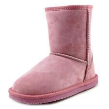 Chaussures roses moyens en daim pour fille de 2 à 16 ans
