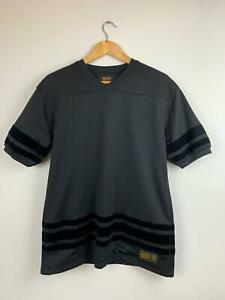 10 Deep Men's Black Mesh Velvet T-shirt M A14 ~ Free AU Shipping!