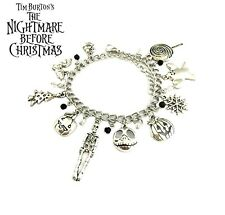 ~ THE NIGHTMARE BEFORE CHRISTMAS THEMED CHARM BRACELET~