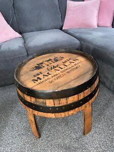 Coffee Table,  Oak Whisky Barrel