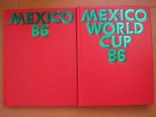 CALCIO MESSICO 86 WORLD CUP 2 VOL.  BIBL: SPORTIVA OLIMPICA RILEGATO IN PELLE