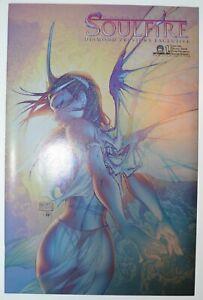 MICHAEL TURNER'S SOULFIRE #1 (2004, Aspen) Diamond Previews Exclusive (NM+) 9.6
