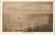 Wittdün auf Amrum, Meeres-Brandung, alte Ansichtskarte um 1925