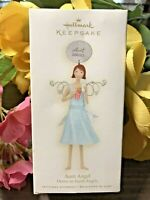 c.2008 NEW! Hallmark Collectible Ornament~AUNT ANGEL~DOWN TO EARTH ANGELS~SEALED
