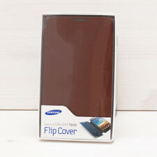Original Samsung Galaxy Note N7000 i9220 Flip Cover Case Brown Genuine Leather
