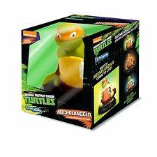 TEENAGE MUTANT NINJA TURTLES COLOUR CHANGING LED LIGHT MICHELANGELO SAFE 4 KIDS!