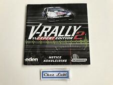 Notice - V-Rally 2 Expert Edition - Sega Dreamcast - PAL FAH