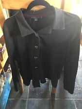 Ladies Boden Black Jersey Jacket - Peplum Style