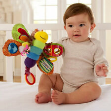 Baby Stroller/Bed Hanging Butterfly Handbell Rattle Teether.Education Plush Toys