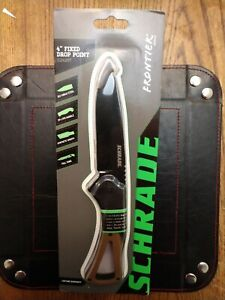 """Schrade Frontier Fixed Blade Knife """"9Cr18MoV Steel Full Tang"""
