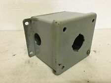 Hoffman E1PB Pushbutton Enclosure, Used