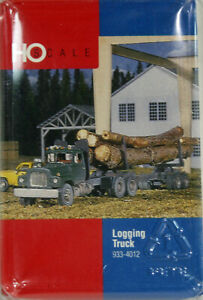 HO Walthers Logging Truck -- RESIN AND PLASTIC KIT -- NEW IN BOX