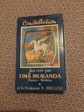 [11227-B8] Jeu de Carte Tarot - Uma Mukanda Cnstellation Brugne - Médium