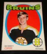 BOBBY ORR 1971, O-PEE-CHEE, #100 Boston Bruins, Hockey Card, HALL OF FAME