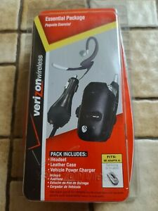 Verizon Headset & Car Charger Essential Package For Samsung SCH-a650 Cell Phone