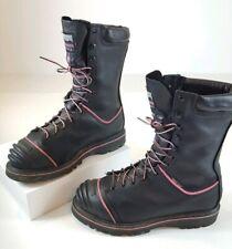 """EUC Matterhorn Mining 10"""" Waterproof Insulated Black Pink Boots MT975 Womens 10"""