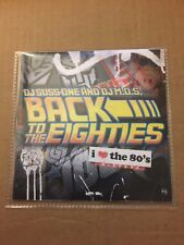 DJ SUSS-ONE & DJ MOS Back to the 80s CLASSIC 1980s Non-stop Music Mixtape MIX CD