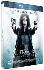 COFFRET STEELBOOK COMBO BLU RAY +  DVD--UNDERWORLD - NOUVELLE ERE--BECKINSALE