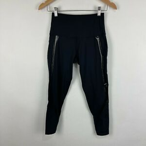 2XU Womens Leggings Size S Small Black Elastic Waist High Rise
