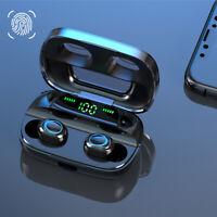 Cuffie Bluetooth 5.0 Mini Stereo Wireless Senza fili Sport Iphone Microfono TWS