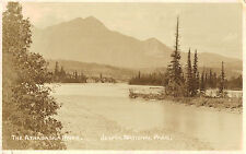 RPPC,Alberta,Canada,Jasper National Park,Athabasca Trail,Used,1924