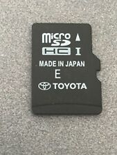 Toyota Highlander Navigation Micro SD HC Card Map Data 86271-35011 8627135011