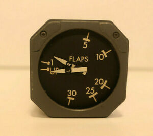 Boeing 747 Aircraft Flap Position Indicator P/N 9801-09-03
