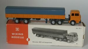 Wiking Modelle Nr.51a Mercedes Delivery Truck with Tilt HO, 1:87