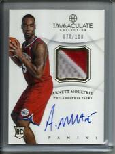 Arnett Moultrie 12/13 Immaculate Collection Autograph Jersey Patch RC #070/100