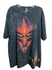 Blizzard Entertainment Diablo 3 Video Game Promo T-Shirt XL Jinx Hanes