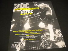 Ac/Dc Some Bands Were Never Meant To Be Unplugged Rare 1992 Promo Display Advert