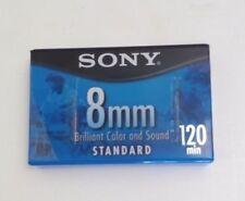 Sony 8mm Cassette Tape Standard Grade 120 Minutes  New Sealed
