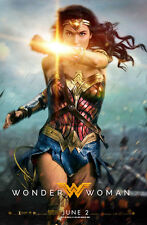 "Wonder Woman (2017)  Movie Poster - 24"" x 36"" inches Power Courage Wonder"
