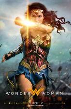 """Wonder Woman (2017)  Movie Poster - 24"""" x 36"""" inches Power Courage Wonder"""