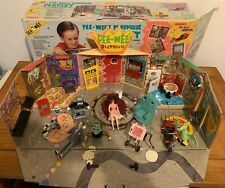 1988 Vintage Matchbox Pee-Wee's Playhouse Playset w/ box Missing 1 piece