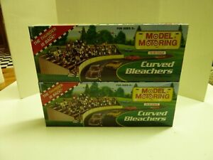 Lot of 2 HO Scale Model Motoring Curved Bleachers
