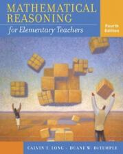Mathematical Reasoning for Elementary Teachers 4th edition. BRAND NEW