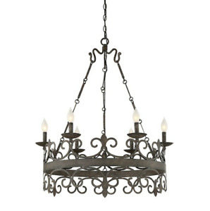 Savoy House Flanders 6 Light Chandelier, Fieldstone - 1-8000-6-64-OPEN BOX