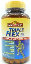 Nature Made Triple Flex Triple Strength  120 Caplets  Glucosamine MSM