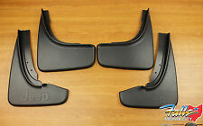 2014-2020 Jeep Grand Cherokee Summit Front & Rear Mud Flap Splash Guard Set OEM