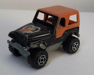 Majorette . Jeep cj 5  . Ech 1/60 Occasion sans boite