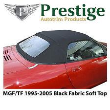 MGF MGTF Soft Top Convertible Top Black Fabric 1995-2005