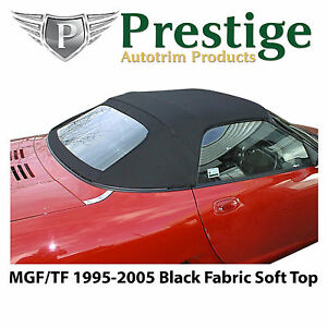 MGF MGTF Soft Top Convertible Top Black Fabric 1995-2005