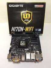 GIGABYTE GA-H170N-WIFI, LGA 1151 DDR4 eSATA PCIe HDMI DVI-D m-ITX F7jn05