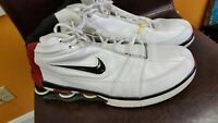 Nike Shox VC IV 4 shoes 310379 101 white/black/red size 11 Vince Carter